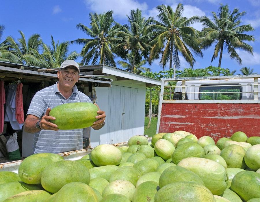 Cooks Islands Farmer